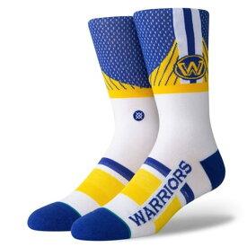 STANCE(スタンス)WARRIORS SHORTCUT 2 ソックス NBAカジュアルコレクション / ゴールデンステート・ウォリアーズ スポーツスタイル ファッション 靴下 バスケットボール / メンズ