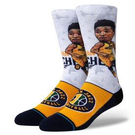 【最大650円OFFクーポン】STANCE(スタンス)DONOVAN BIG HEAD ソックス NBAカジュアルコレクション / ユタ・ジャズ ドノバン・ミッチェル バスケットボール バッソク Utah Jazz メンズ 靴下