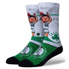 STANCE(スタンス)BIRD BIG HEAD ソックス NBAカジュアルコレクション / ラリー・バー ボストン・セルティックス バスケットボール バッソク Boston Celtics メンズ 靴下