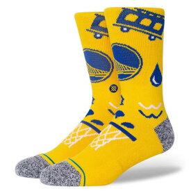 STANCE(スタンス) NBA GOLDENSTATE LANDMARK ソックス NBAカジュアルコレクション / Golden State Warriors ウォリアーズ スポーツスタイル バスケットボール バッソク メンズ 靴下