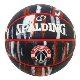 Spalding(スポルディング) NBA ワシントン・ウィザーズ マーブル ラバーボール 7号球 / 7号バスケットボール Washington Wizards