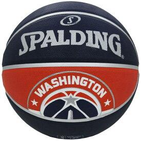 Spalding NBA公式 バスケットボール 7号球 ワシントン・ウィザーズ ラバーボール / Washington Wizards 屋外用に最適 スポルディング