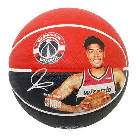 Spalding NBA公式 バスケットボール 7号球 ワシントン・ウィザーズ 八村塁 ラバーボール / Washington Wizards Rui Hachimura 屋外用に最適 スポルディング