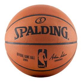 Spalding NBA公式 バスケットボール 7号球 オフィシャルゲームボール 天然皮革 スポルディング