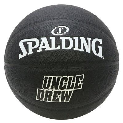 スポルディングUncleDrewキャラクターコンポジットボール7号合成皮革バスケットボール/カイリー・アービング主演映画「アンクル・ドリュー」公式グッズ