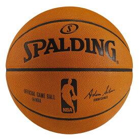 SPALDING(スポルディング) NBAオフィシャルゲームボール バスケットボール 7号 天然皮革