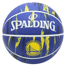 Spalding(スポルディング) NBA ゴールデンステート・ウォリアーズ マーブル ラバーボール 7号球 / 7号バスケットボール