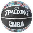 Spalding(スポルディング) NBA ALLチームロゴ アイコンボール ラバー 7号球 / 7号バスケットボール