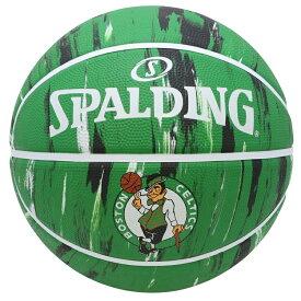 Spalding(スポルディング) NBA ボストン・セルティックス マーブル ラバーボール 7号球 / 7号バスケットボール