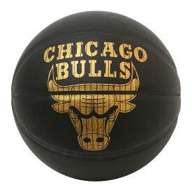 Spalding NBA公式 バスケットボール 7号球 ハードウッドシリーズ シカゴ・ブルズ 合成皮革 / Chicago Bulls 屋内用に最適 スポルディング