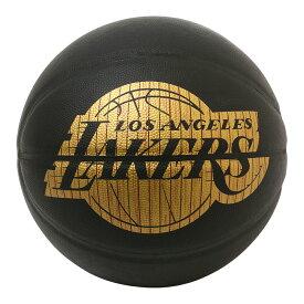Spalding NBA公式 バスケットボール 7号球 ハードウッドシリーズ ロサンゼルス・レイカーズ 合成皮革 / Los Angeles Lakers 屋内用に最適 スポルディング