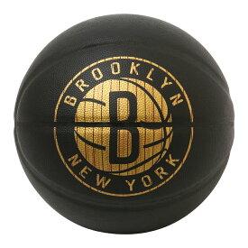 Spalding NBA公式 バスケットボール 7号球 ハードウッドシリーズ ブルックリン・ネッツ 合成皮革 / Brooklyn Nets 屋内用に最適 スポルディング