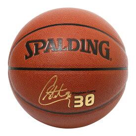 Spalding NBA公式 バスケットボール 7号球 ステフィン・カリー 合成皮革 / Golden State Warriors Stephen Curry シグネチャーボール ゴールデンステート・ウォリアーズ 屋内用に最適 スポルディング