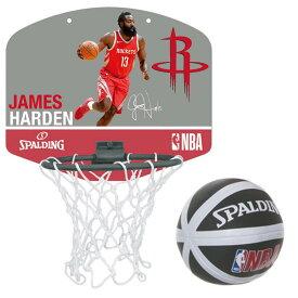 スポルディング (SPALDING) バスケットボール マイクロミニボード ジェームズ・ハーデン選手 NBAロゴ入り / Houston Rockets バスケットボール ゴールマイクロミニボード ヒューストン・ロケッツ