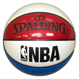 NBA公式 SPALDING 7号球 バスケットボール アンダーグラス トリコロール / エナメル スポルディング