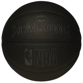 NBA公式 SPALDING 7号球 バスケットボール ダークナイト コンポジット/ 合成皮革 スポルディング