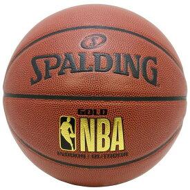 【最大650円OFFクーポン】NBA公式 SPALDING 5号球 バスケットボール NBA ゴールド コンポジット/ 合成皮革 スポルディング