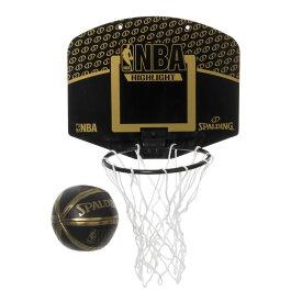 【最大650円OFFクーポン】NBA公式 SPALDING 屋内(室内)ミニバスケットゴールマイクロミニボード ハイライト