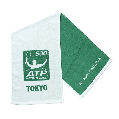 ATPスポーツタオルグリーン/ホワイト