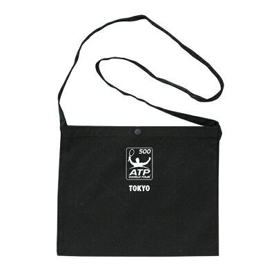 ATPキャンバスサコッシュバッグカラー:ブラック