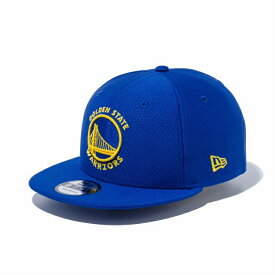 New Era (ニューエラ) NBA 9FIFTY キャップ ゴールデンステイト・ウォリアーズ Golden State Warriors HEXTECH MBLU TEAM/ メンズ・レディース兼用 帽子