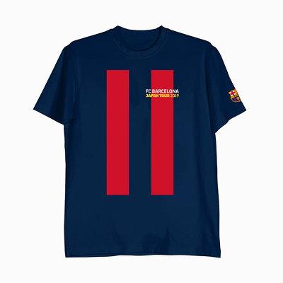 FCバルセロナピケTシャツ/メンズレディースPIQUEバルサ(FCB)