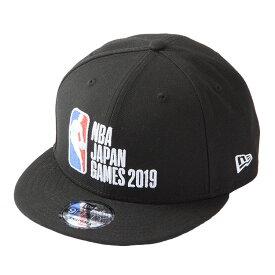 NEW ERA(ニューエラ) NBA JAPAN GAMES 2019 9FIFITY キャップ ブラック / メンズ レディース兼用 帽子 NBAジャパンゲームズ