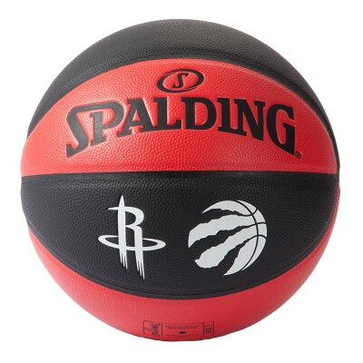 Spalding(スポルディング)NBAJAPANGAMES2019コンポジット7号ボールシリアルナンバー入り/合皮7号バスケットボール/ラプターズロケッツ