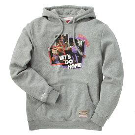 【楽天限定】 ミッチェル&ネス NBA トロント・ラプターズ ビンス・カーター 「LET'S GO HOME」 プルオーバーフーディー (グレー) / Mitchell & Ness Tronto Raptors Vince Carter Pull Over Hoody