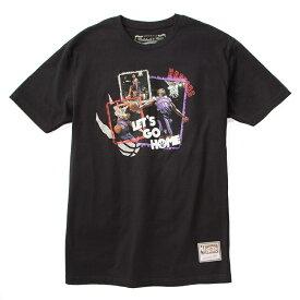 ミッチェル&ネス NBA トロント・ラプターズ ビンス・カーター 「LET'S GO HOME」 Tシャツ (ブラック) / Mitchell & Ness Tronto Raptors Vince Carter Pull Over Hoody