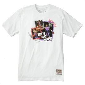 ミッチェル&ネス NBA トロント・ラプターズ ビンス・カーター 「LET'S GO HOME」 Tシャツ (ホワイト) / Mitchell & Ness Tronto Raptors Vince Carter Pull Over Hoody