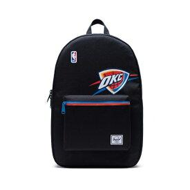 Herschel Supply(ハーシェルサプライ) NBA Super fan オクラホマシティ・サンダー Black/Blue/Sunset セトルメントバックパック リュック / Settlement Oklahoma City Thunder バスケットボール