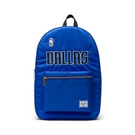 Herschel Supply(ハーシェルサプライ) NBA Champions ダラス・マーベリックス Royal Blue/Black セトルメントバックパック リュック / Settlement Backpack Dallas Mervericks バスケットボール