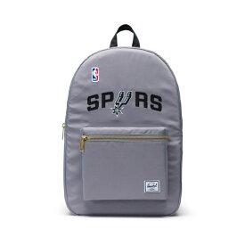 Herschel Supply(ハーシェルサプライ) NBA Champions サンアントニオ・スパーズ Silver/Black セトルメントバックパック リュック / Settlement Backpack San Antonio Spurs バスケットボール