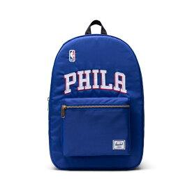 Herschel Supply(ハーシェルサプライ) NBA Champions フィラデルフィア・セブンティシクサーズ Dark Blue/Black/White セトルメントバックパック リュック / Settlement Backpack Philadelphia 76ers バスケットボール