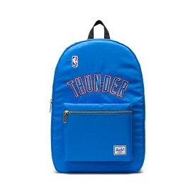 Herschel Supply(ハーシェルサプライ) NBA Champions オクラホマシティ・サンダー Dark Blue/Black セトルメントバックパック リュック / Settlement Backpack Oklahoma City Thunder バスケットボール