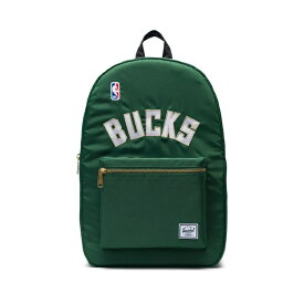 Herschel Supply(ハーシェルサプライ) NBA Champions ミルウォーキー・バックス Dark Green/Black/White セトルメントバックパック リュック / Settlement Backpack Milwaukee Bucks バスケットボール