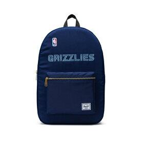 Herschel Supply(ハーシェルサプライ) NBA Champions メンフィス・グリズリーズNavy/Black/Smoke セトルメントバックパック リュック / Settlement Backpack Memphis Grizzlies バスケットボール