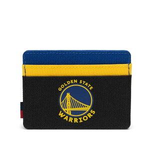 Herschel Supply(ハーシェルサプライ)Charlie Wallet ゴールデン・ステート・ウォリアーズ/NBA Super fan Golden State Warriors バスケットボール /