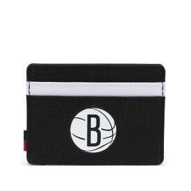 Herschel Supply(ハーシェルサプライ)Charlie Wallet ブルックリン・ネッツ / NBA Super fan Brooklyn Nets 財布 カード入れ バスケットボール /