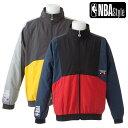 【NBA Style】 Chicago Bulls ナイロン ジップアップウインドブレーカー ユニセックス / シカゴ・ブルズ ブルゾン