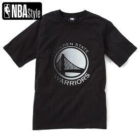 【NBA Style 2021 SS】 Golden State Warriors グラデーションアートワークロゴ ルーズフィット Tシャツ / ゴールデンステート・ウォリアーズ