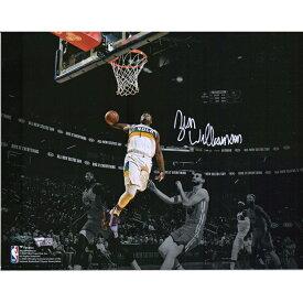 ザイオン・ウィリアムソン 直筆サイン入り 11x14インチ スポットライト フォトポスター NBA ニューオーリンズ・ペリカンズ 【フレームなし】 / Zion Williamson New Orleans Pelicans Autographed 11 x 14 inch Spotlight Photograph / Fanatics メモラビリア