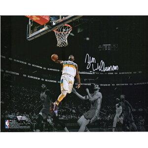 ザイオン・ウィリアムソン 直筆サイン入り 11x14インチ スポットライト フォトポスター NBA ニューオーリンズ・ペリカンズ 【フレームなし】 / Zion Williamson New Orleans Pelicans Autographed 11 x 14 inch Sp
