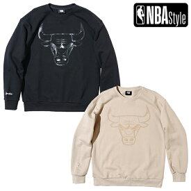 【NBA Style AW】Chicago Bulls ルーズフィット ロゴ スウェット
