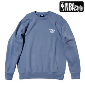 【NBA Style AW】Indiana Pacers ルーズフィット チームロゴ スウェット