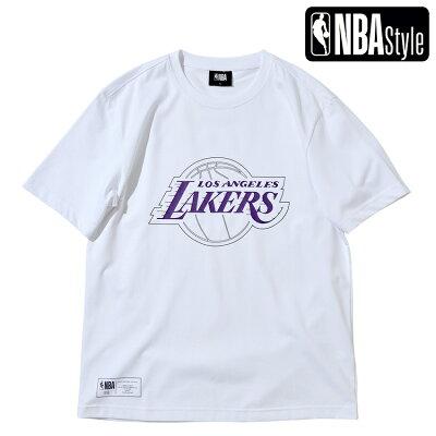 LosAngelesLakersビッグロゴレギュラーフィットTシャツ