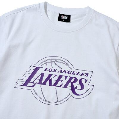 【NBAStyle2021SS】LosAngelesLakersビッグロゴレギュラーフィットTシャツ