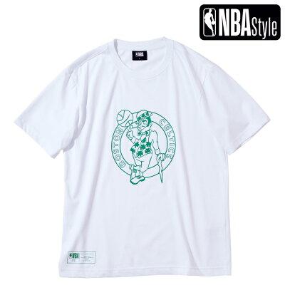 BostonCelticsビッグロゴレギュラーフィットTシャツ