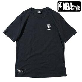 【NBA Style 2021 SS】 Brooklyn Nets スモールロゴ レギュラーフィット Tシャツ